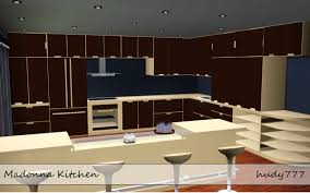 Sims 3 Kitchen Mod The Sims Madonna Kitchen