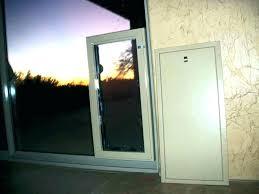 dog door for sliding glass best pet in electronic insert diy sliding glass door installation dog