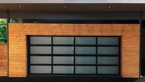 all glass garage door full view aluminum garage door ideas commercial glass garage doors for