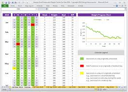 Pin On Fitness Planner And Weight Tracker Excel Spreadsheet