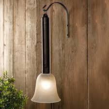portable outdoor lantern torch patio light
