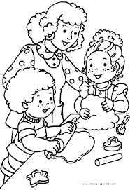 Family Preschool Coloring Pages Free Printable Coloring Pages For