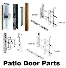 fix sliding door sliding door locks repair glass door locks repair handles locks and keepers simple