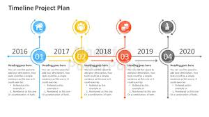 it project timeline timeline project plan powerpoint template