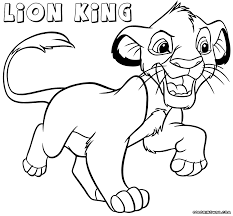 Lion King Coloring Pages Coloring Pages To Download And Print