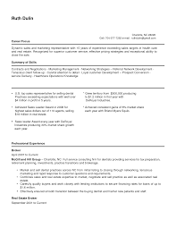 Bunch Ideas Of Outside Sales Representative Resume Templates Sales