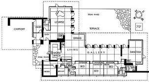 Griggs Residence Tacoma Washington Frank Lloyd Wright Usonian Frank Lloyd Wright Floor Plan