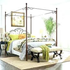 Canopy Bed Frames King Black King Size Canopy Bed Furniture Canopy ...