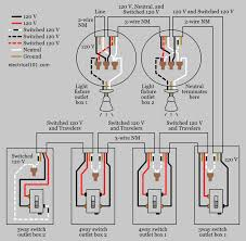 3 4 way switch wiring diagram wiring diagram 4 way switches electrical 101