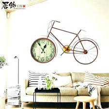 unique wall clock clocks for living room creative past style cool india