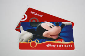 target redcard and disney gift card