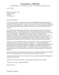 Sample Cover Letter Attorney Position Adriangatton Com
