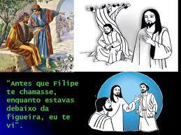 Resultado de imagem para NATANAEL E JESUS - DEBAIXO DA FIGUEIRA