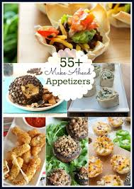 55+ Make-Ahead Appetizers Roundup | Perfect for the holidays or anytime  you'  Christmas Party ...