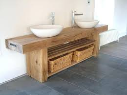 wooden bathroom sink awesome wooden bathroom vanity pertaining to impressing trendy and chic industrial ideas wooden