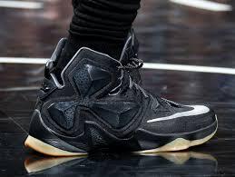 lebron shoes 13 black. closer look at james black lion lebron 13 pe lebron shoes b