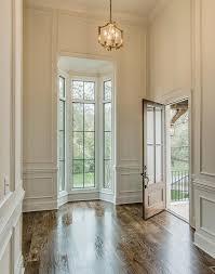 High Foyer Ceiling with Bay Windows