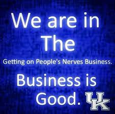 Business is good | Big blue nation, Uk wildcats basketball, Go big blue