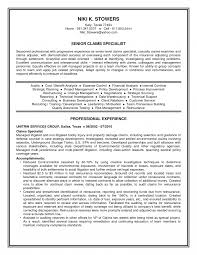Auto Insurance Claims Adjuster Resume Examples Templates Field