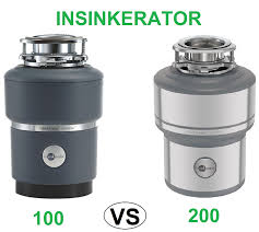 Garbage Disposal Comparison Chart Insinkerator Evolution 100 Vs 200 Which One Is The Best