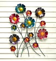 charming pcs flowers metal wall metal flower wall art decor amazing metal wall decor flowers danielederossi design inspiration jpg