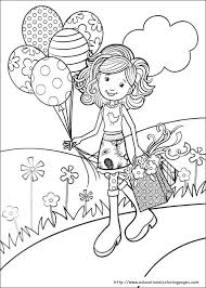 Coloring Pages For Girls Online At Getdrawingscom Free For