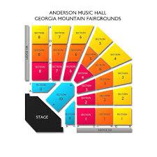Anderson Music Hall Georgia Mountain Fairgrounds 2019