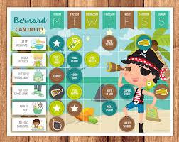Do Reward Charts Work Pirate Reward Chart Little Graphics