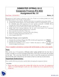 corporate finance solution accountancy banking and business the document
