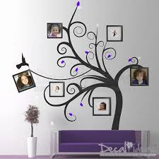 family tree wall decal photo frame family swirl tree decal stickers decalideas wall decals on vinyl wall art tree decals with family tree wall decal photo frame family swirl tree decal