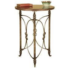 luxury french metal side table