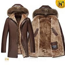 mens lambskin shearling coat