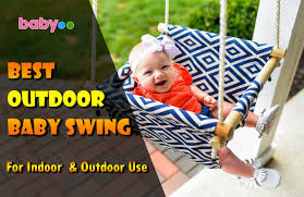 9 best outdoor baby swing superb for indoor and outdoor use