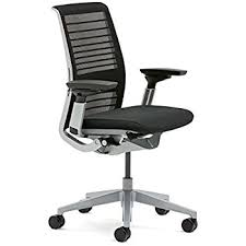steelcase think office chair. steelcase think chair licorice 3d knit office