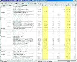 Home Construction Estimator Excel Construction Cost Estimate Building Spreadsheet Excel