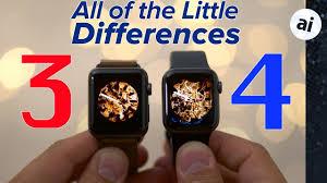 Apple Watch 3 Comparison Chart Apple Watch Series 4 Vs Series 3 Full Comparison