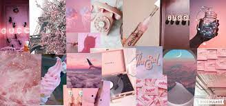 Pink Collage Desktop Wallpapers - Top ...