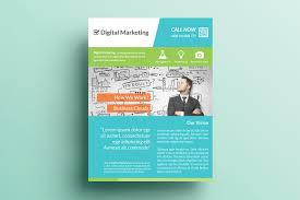 Marketing Flyer Creative Marketing Flyer V24 Flyer Templates Creative Market 1