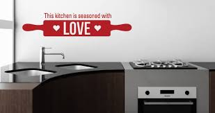 Kitchen Love Wall Quote Decal Dezign With A Z Impressive Love Wall Quotes