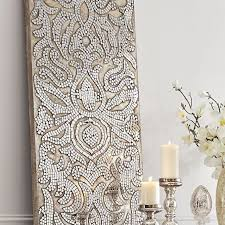 champagne mirrored mosaic damask panel damasks elegant on damask framed wall art with 4 mosaic framed wall art picture frame red glass mosaic