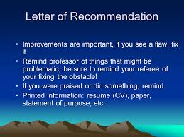Statements Of Purpose And Letters Of Recommendation Gspi