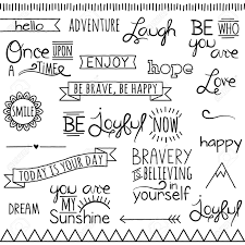 motivational hand drawn poster foyer typography teacher doodle words clipart clip art typography word subway art clip art clipart vectors commercial and personal use