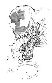 Venom Sketch By Max Dunbar On At Deviantart Libri Da Colorare Nel