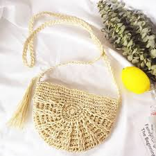 Ayliss Women <b>Straw Bag</b> Crossbody <b>Handmade Woven</b> Summer ...
