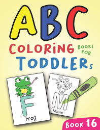 Printable alphabet letters and coloring pages. Abc Coloring Books For Toddlers Book16 A To Z Coloring Sheets Jumbo Alphabet Coloring Pages For Preschoolers Abc Coloring Sheets For Kids Ages 2 4 And Kindergarten A To Z Coloring Pages