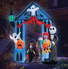 Jack Skellington Decorations Halloween Amazoncom Airblown Inflatable Jack Skellington Patio Lawn Garden
