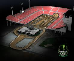 Monster Jam Atlanta Seating Chart Track Maps Supercross Live