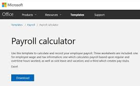 Microsoft Payroll Templates Preparing Payroll In Excel Onsite Software Training From