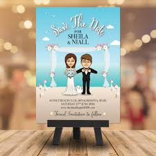 Save The Date Upload Your Own Design Wedding Save The Date Bitmoji Snapchat Beach Make Your Own