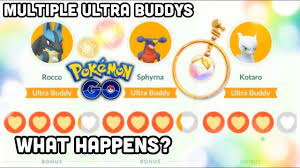 Multiple Ultra Buddys in Pokemon GO | My experience & the benefits of Ultra  Buddys - YouTube